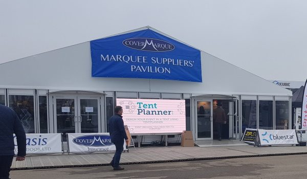 TentPlanner at the Covermarque Marquee Suppliers' Pavilion